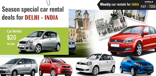 Online Taxi Hire from Delhi